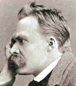 Nietzsche, som hatade kristendomen mer än Bard och som dessutom hade större mustasch