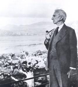 Lord Russell, 92 år gammal