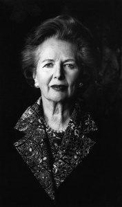Den kraftfulla Margaret Thatcher