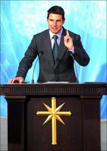 Tom Cruise, känd scientolog