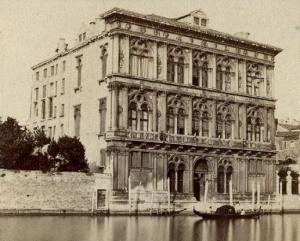 Palazzo Vendramin ca 1870