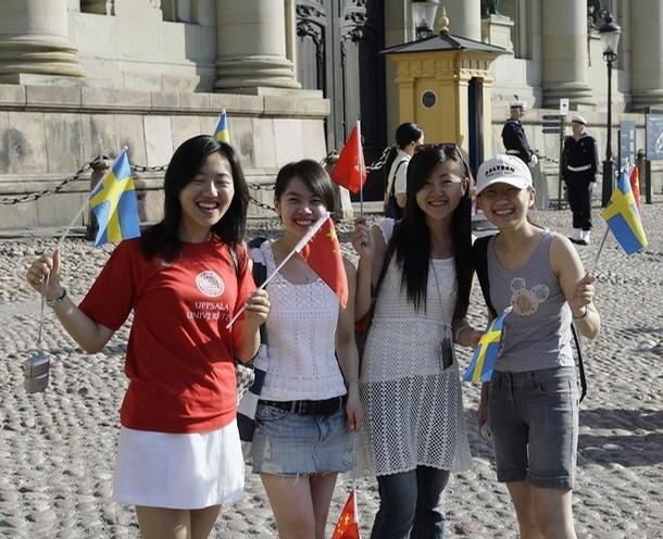 SWEDEN - CHINA - PRESIDENT
